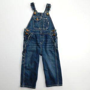 Oshkosh B'gosh 18 Months Blue Denim Jean Overalls